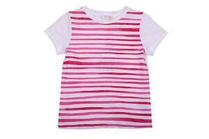 3e4c470ea NWT NEW Gucci girls pink white stripe logo back tee shirt 8y 372849 ...