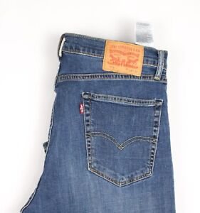 Levi-039-s-Strauss-amp-Co-751-Hommes-Slim-Jambe-Droite-Jeans-Extensible-Taille-W38-L32