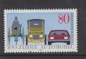 1986-WEST-GERMANY-MNH-STAMP-DEUTSCHE-BUNDESPOST-CENTENARY-OF-MOTOR-CAR-SG-2116