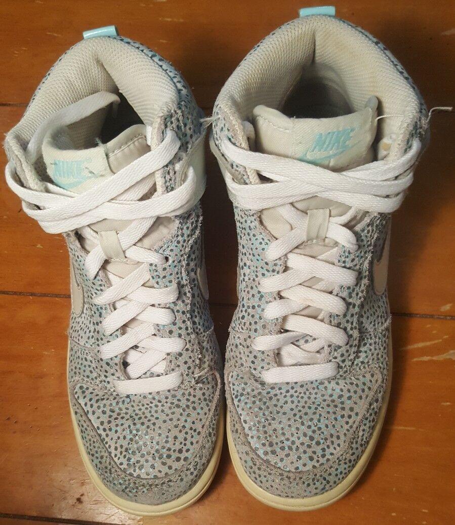 Nike Womens Dunk Hi Skinny Shoe Light Base Grey/Glacier Ice 543242-005 US SIZE 5 Cheap and beautiful fashion