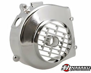 Huatian-50cc-HT50QT-16-Flywheel-Fan-Cover-Chrome