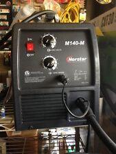 New Norstar M140-M Premium MIG Welding Machine GMAW, autobody work, fabrication