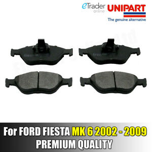 Ford-fiesta-Mk6-2002-2009-Pastillas-De-Freno-Delantero-Pad-Set-Nuevo-GENUINA-UNIPART