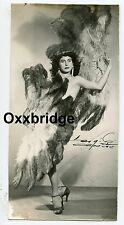 Gay Burlesque Male Stripper Cross Dresser 1950 PHOTO Drag Queen Man Interest