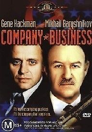 1 of 1 - COMPANY BUSINESS DVD=GENE HACKMAN=REGION 4 AUSTRALIAN RELEASE=NEW AND SEALED