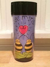 Starbucks Coffee Bee Mine Valentines Day Sweetheart Travel Tumbler Mug 12oz