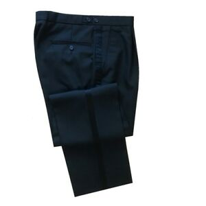 Mens Black Evening/Tuxedo Cruise/Ball Dinner Trousers - Various Sizes