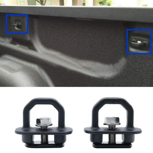 Tie Down Anchor Truck Bed Side Wall Anchors for GMC Trucks Cargo Chevy Silverado