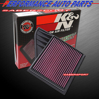 K/&N Replacement Air Filter 2010-2014 Ford Mustang 3.7L 4.6L 5.0L BOSS GT 33-2431
