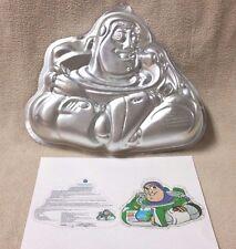 Wilton Toy Story BUZZ LIGHTYEAR Cake Pan Mold Tin 2105-8080 Pixar Disney VGC