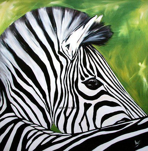 INES Ramm  Oswald Zebra Pop terminé-image 70x70 la fresque