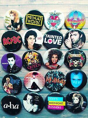 20 one-inch Pop N Music button pins