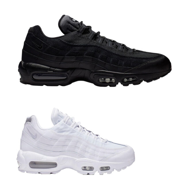 Nike Air Max 95 Essential Leather Textile Low top Sneakers Mens Trainers