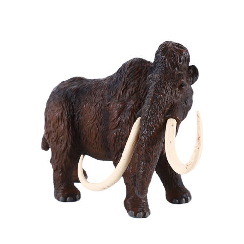 Kids Education Simulation A Family Of Three Mammoth Animal Model Figure Toy ONE