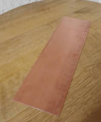 Kupferbleche Zuschnitte Kupferzuschnitte in 0,7 m/m