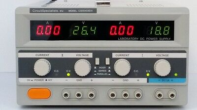 DC Linear Bench Power Supply Variable Output 0-100V 0-3A (0-50V 0-6A) + 5V fixed