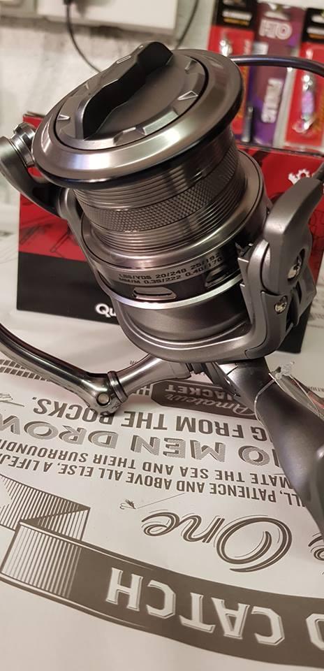 DAM Quick 6 LC 5000 FD... resistente tutti'acqua salata spinning, surf casting REEL