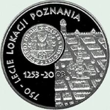 Poland / Polen - 10zl 750th anniversary of granting municipal rights to Poznan