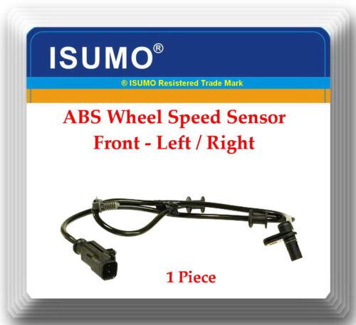 Aspen 07-09 Durango 06-09 ABS Wheel Speed Sensor ALS2116 Front Left//Right Fits