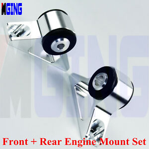Details about Motor Mount Swap Engine For 91-95 Mitsubishi Lancer EVO 1 2 3  4G63 Eclipse Talon