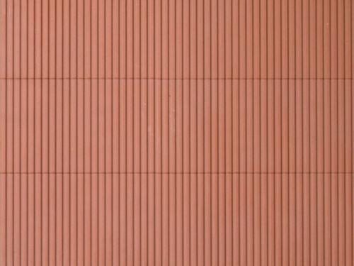 Auhagen 52432 1 décor Plaque Trapèze tôle Brun Rouge en Vrac NEUF 100 x 200 mm