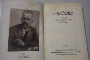 Details Zu Anton Günther Gesamtausgabe Der Gedichteliedersprüche Und Geschichten 1937