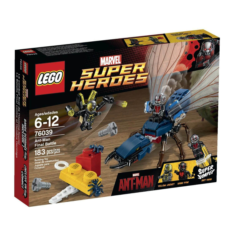 Lego Super Heroes 76039 Ant-man final battle