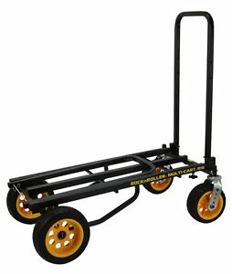 RocknRoller-R18RT-MultiCart-R18-700lb-Capacity-DJ-PA-Equipment-Transport-Cart