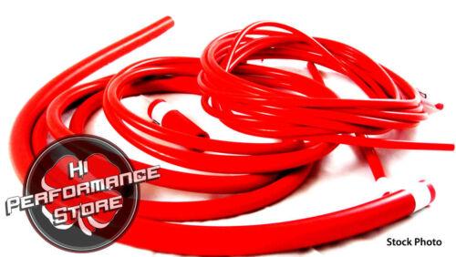 16 Valve Red Silicone Vacuum Hose Kit 84-93 Saab 900//Saab 900 Turbo