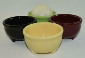 Fiesta-Tripod-Bowls-Discontinued-Item-Choice-of-Colors-1st-Quality