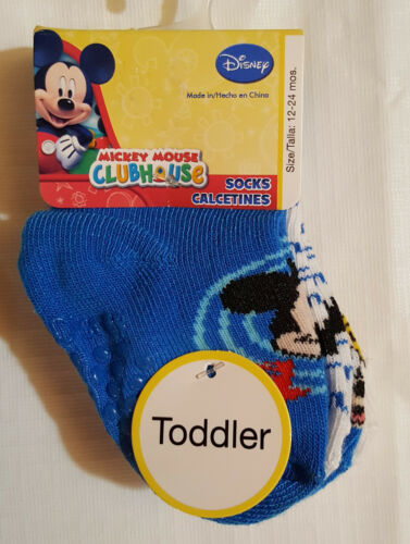 Boys Infant//Toddler Set of 4 Non Skid Socks 6-12 M--12-24 M /& 2-4 Years