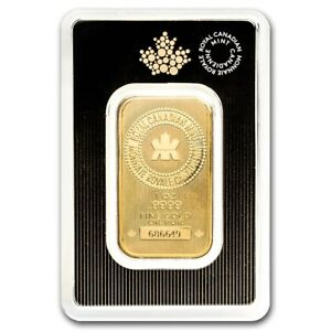 1-oz-Gold-Bar-Royal-Canadian-Mint-New-Style-In-Assay