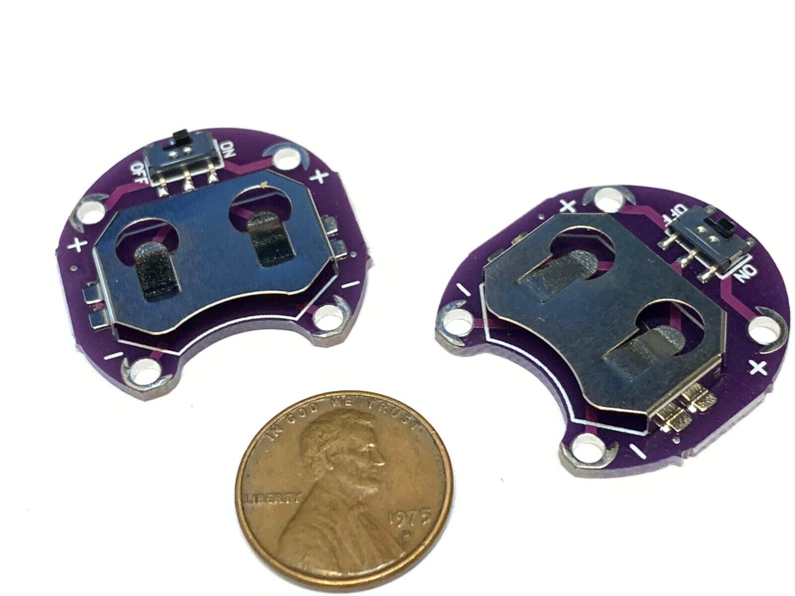 Coin Cell Battery Holder For Lilypad Cr2032 Battery Mount Module For Arduino For Sale Online Ebay