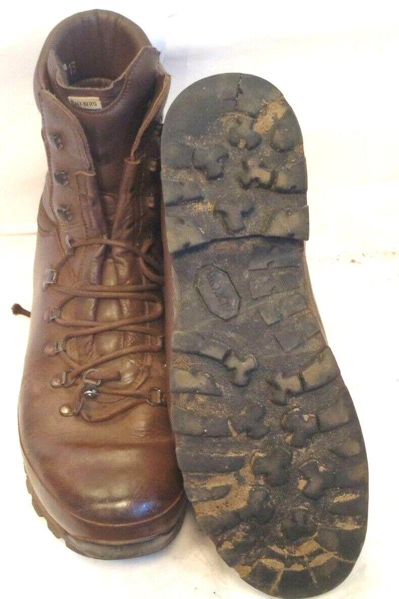 ALTBERG BROWN COMBAT DEFENDER BOOTS - SIZE 13 MEDIUM  - BRITISH ARMY - DFN3214