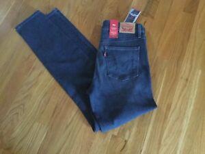 29X30 Moyen Jeans Nwt Jeans Levi's Slimming Taille Bleu xnw0wqp8a7