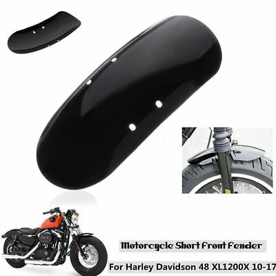 Short Front Fender Mudguard For Harley Davidson Forty Eight 48 XL1200X 2010-2017