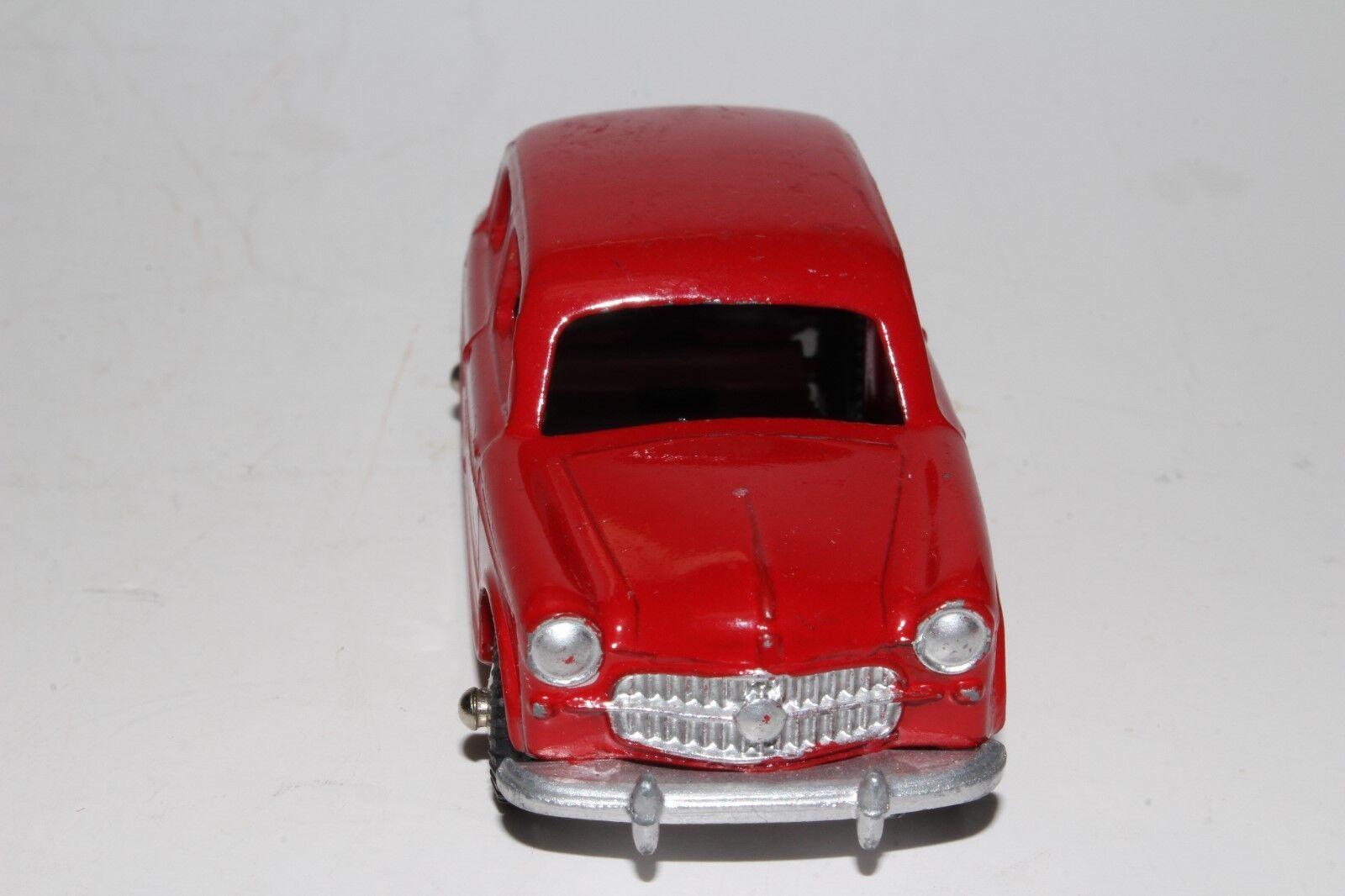 MERCURY 1958 1958 1958 FIAT NUOVA 1100 SEDAN, RED, ORIGINAL 323862