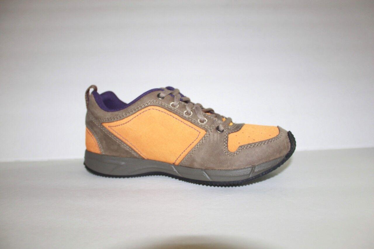 Keen P-ville femme cuir daim jaune Athlétique Baskets Chaussure Taille 5 m neuf dans boîte