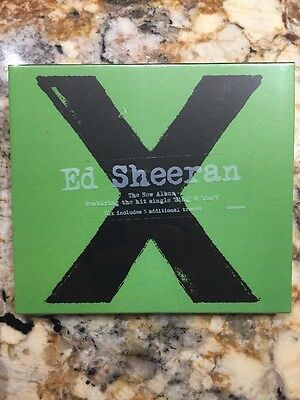 New Sealed CD - X by Ed Sheeran Jun-2014, Atlantic