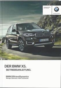 BMW-X5-F15-Betriebsanleitung-2016-Bedienungsanleitung-Handbuch-Bordbuch-BA