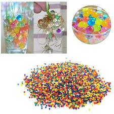 1000pcs Water Balls Crystal Pearls Jelly Gel Bead for Orbeez Toys Refill Decor