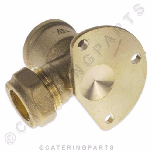 """BPE01 Laiton Vis Compression Plaque Arrière Coude Connecteur 1//2/"""" x 15 mm gaz eau"""