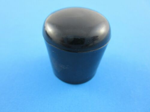 10 Stück Rohrkappen Fusskappen Stuhlkappen Endkappen Schwarz für Rohr 21 mm