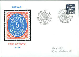 Denmark-1990-25ore-FDC-First-Day-Cover-C56217