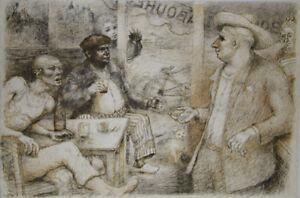 Lucien-Philippe-MORETTI-Lithographie-signee-Le-braconnier-de-Dieu-planche-6
