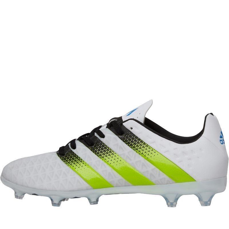 Adidas  para hombre 16.2 FG AG botas De Fútbol blancoo Solar Limo Menta – Talla 6.5 - Nuevo Y En Caja  envío rápido en todo el mundo