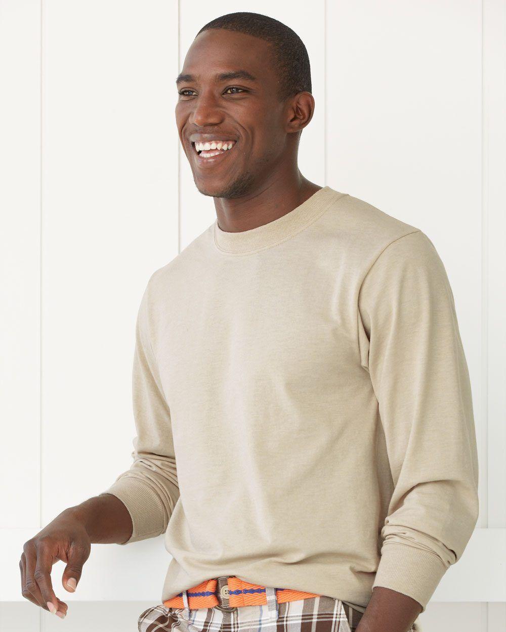 25 JerZee 29L Adult Long Sleeve T-Shirts Bulk Lot ok to mix S-XL & Farbe