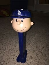 item 6 RARE 12in Musical CHARLIE BROWN PEZ Los Angeles Dodger Mlb Baseball  Peanuts Cart -RARE 12in Musical CHARLIE BROWN PEZ Los Angeles Dodger Mlb  Baseball ... b7ff5504df10
