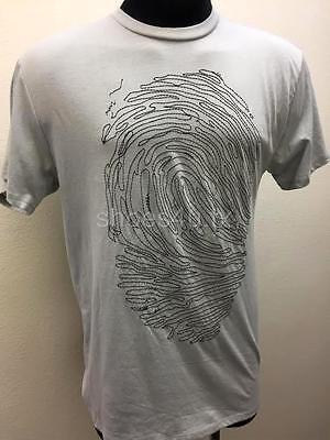 Men's T-shirt Tee Short Sleeve Stitch Logo Neck Crew Natural Theme Casual Cotton