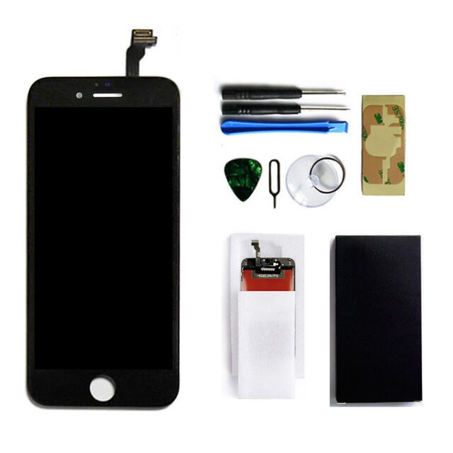 detailed look 7f755 f47e4 Black LCD Display Touch Screen Digitizer Assembly Replacement for iPhone 6